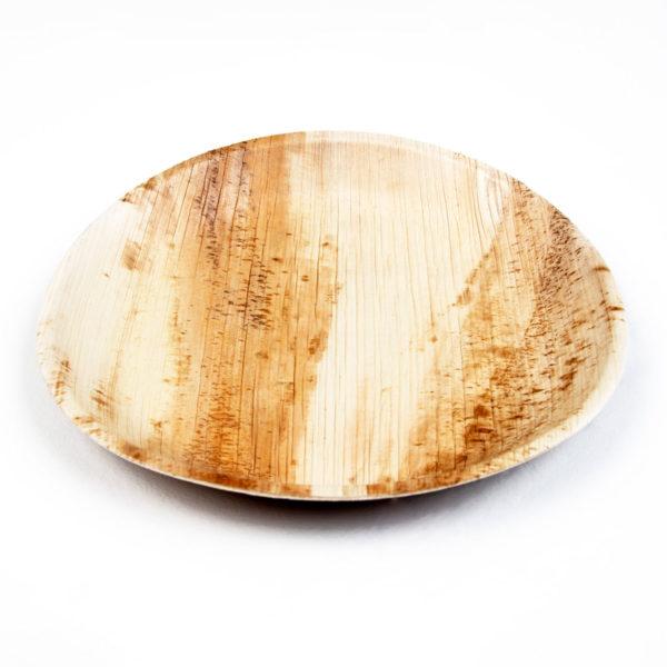 "10"" Palm Leaf Round Plates"
